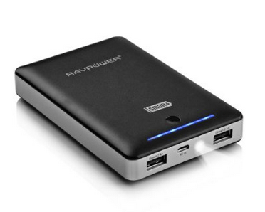 RAVPower Portable Charger 16000mAh External Battery Pack Power Bank with iSmart Technology  http://amzn.to/1I2Kdt3