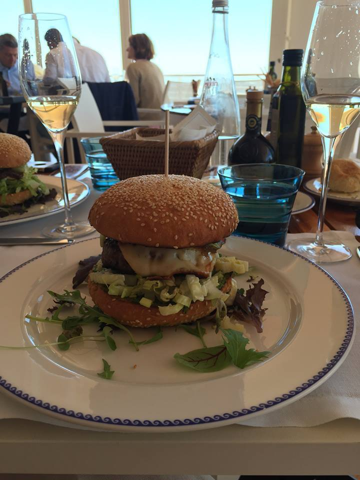 hamburger in France
