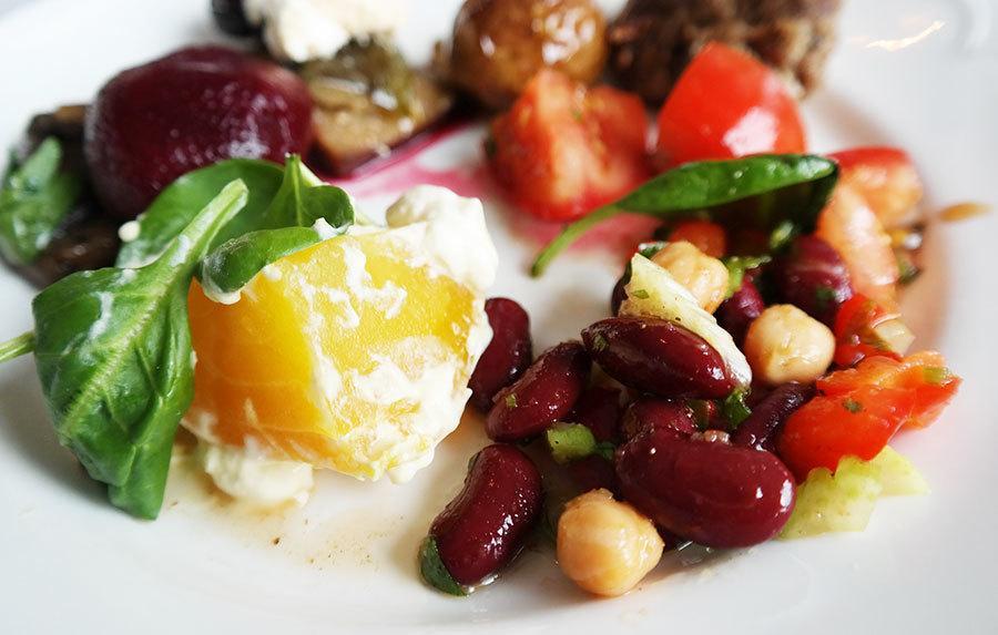 Swedish buffet salads in Swedish Smörgåsbord | Travel feature by @skimbaco