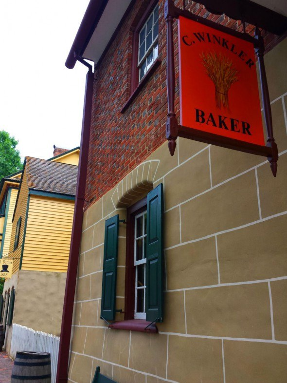 Winkler Bakery in Winston-Salem, N.C. is more than 200 years. Its famous for producing Moravian baked goods.