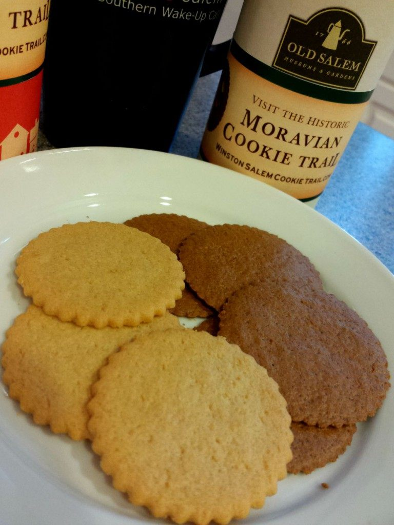 Moravian cookie one