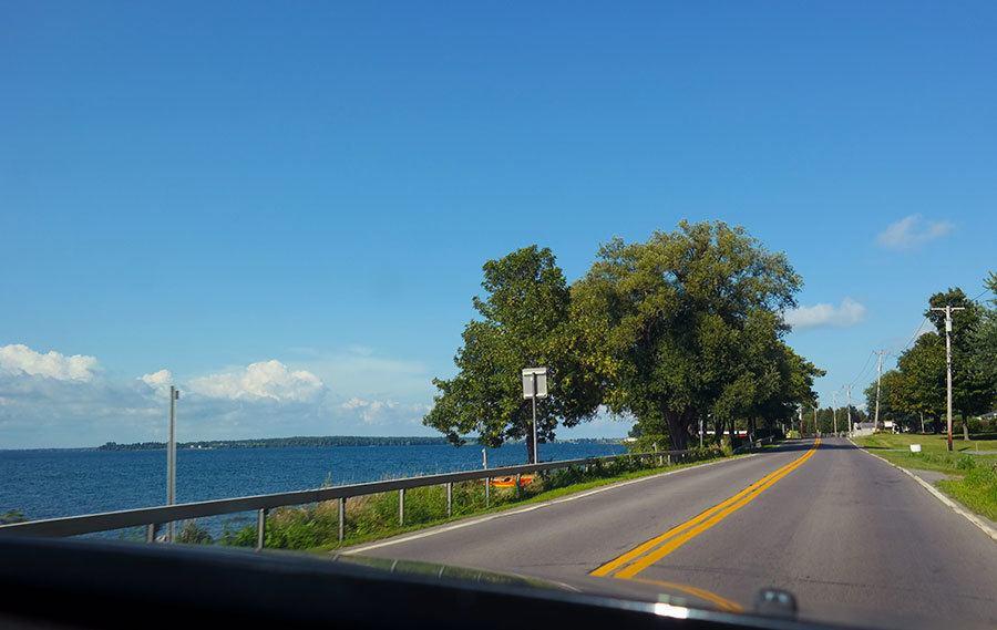 Great Lakes Seaway Trail upstate New York