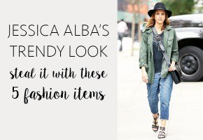 Steal Jessica Alba's trendy fall look with these iconic fashion stables