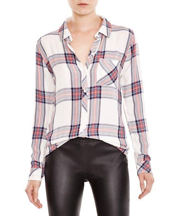 plaid shirt trend for fall