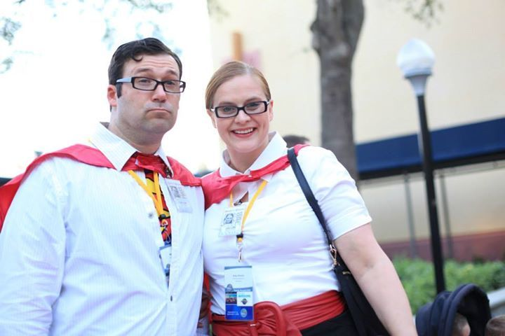 Clark Kent and Lois Lane Halloween costume for couples