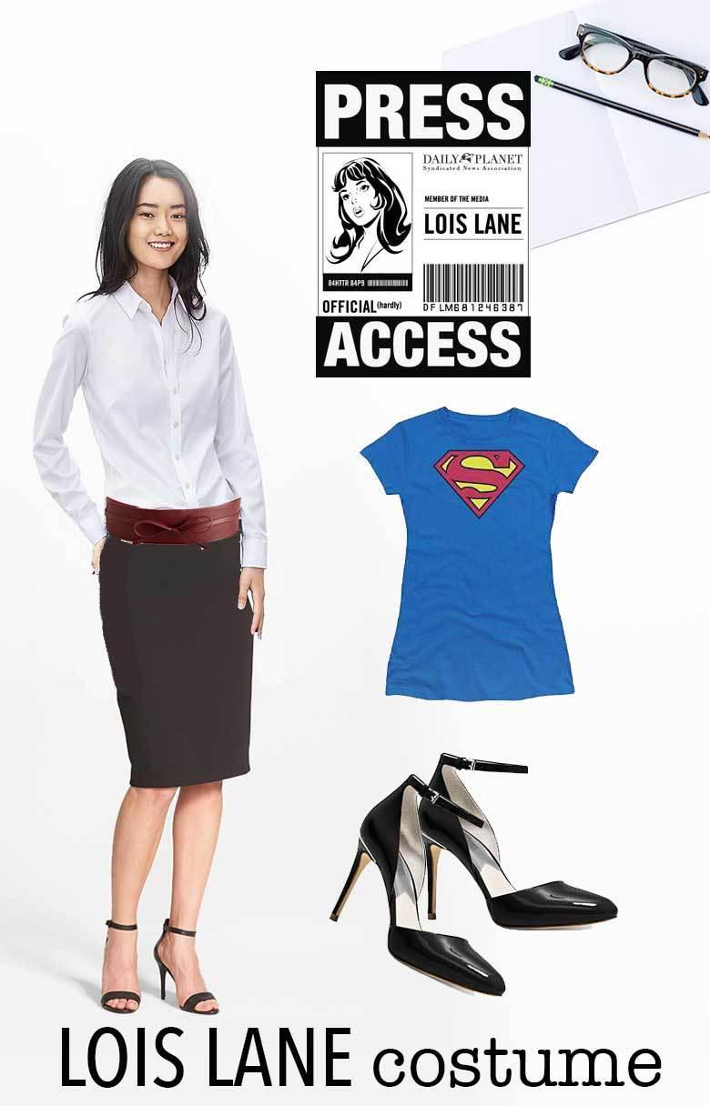 Last Minute Couple's Halloween Costume Idea: Clark Kent ...