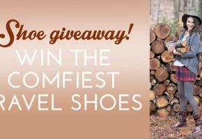 Earth Brands shoe giveaway - the comfiest travel shoes