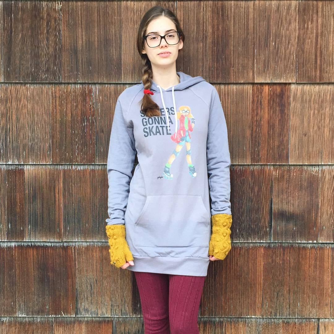 Derbygirl sweater dress from http://www.gabypie.com