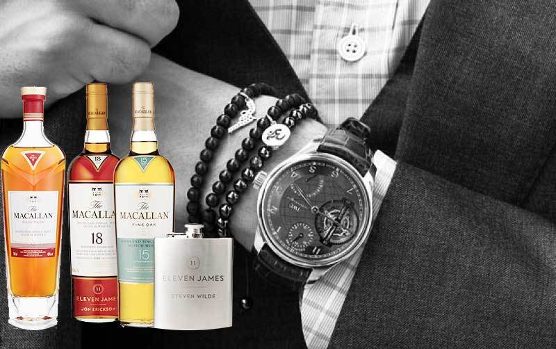 Eleven James subscription- perfect luxury gift for a man
