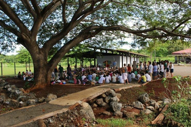 La Paz Community School Under the Guanacaste Tree Costa Rica