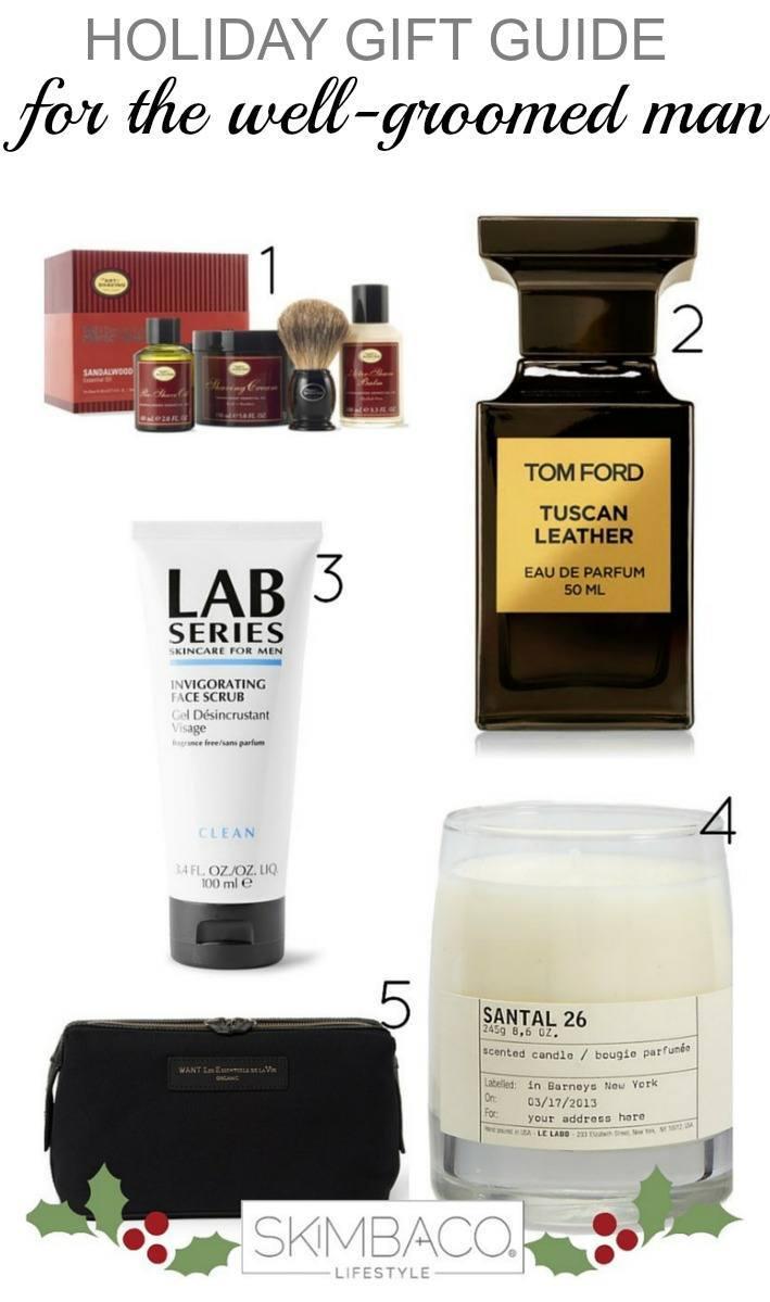 gift guide for well groomed man
