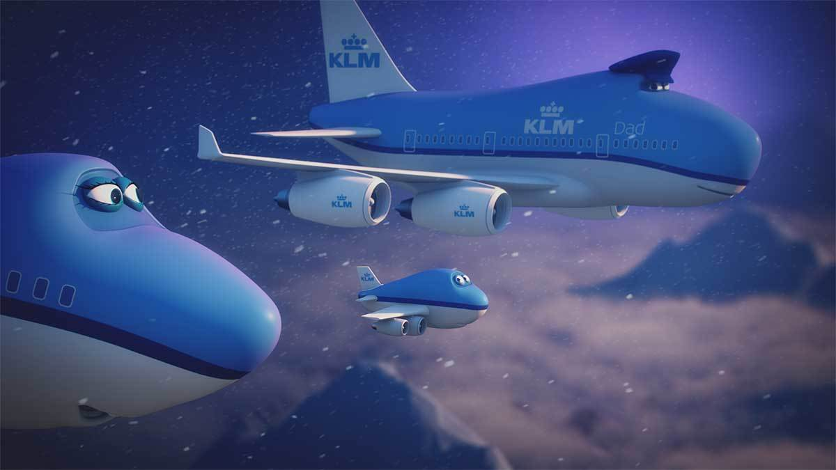 KLM understands it is in all passengers' interest when kids feel comfortable on board.