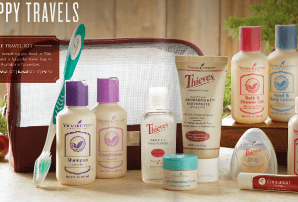 Young Living for travelers