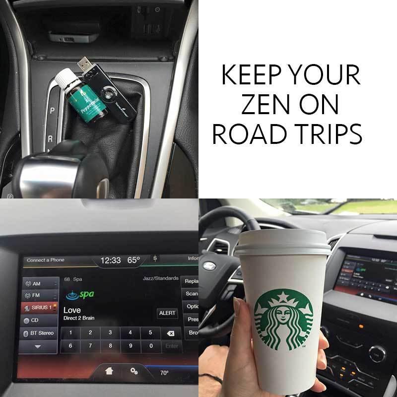 Keep calm on road trips