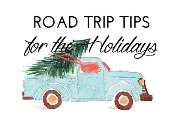 Road trip tips for the Holiday season