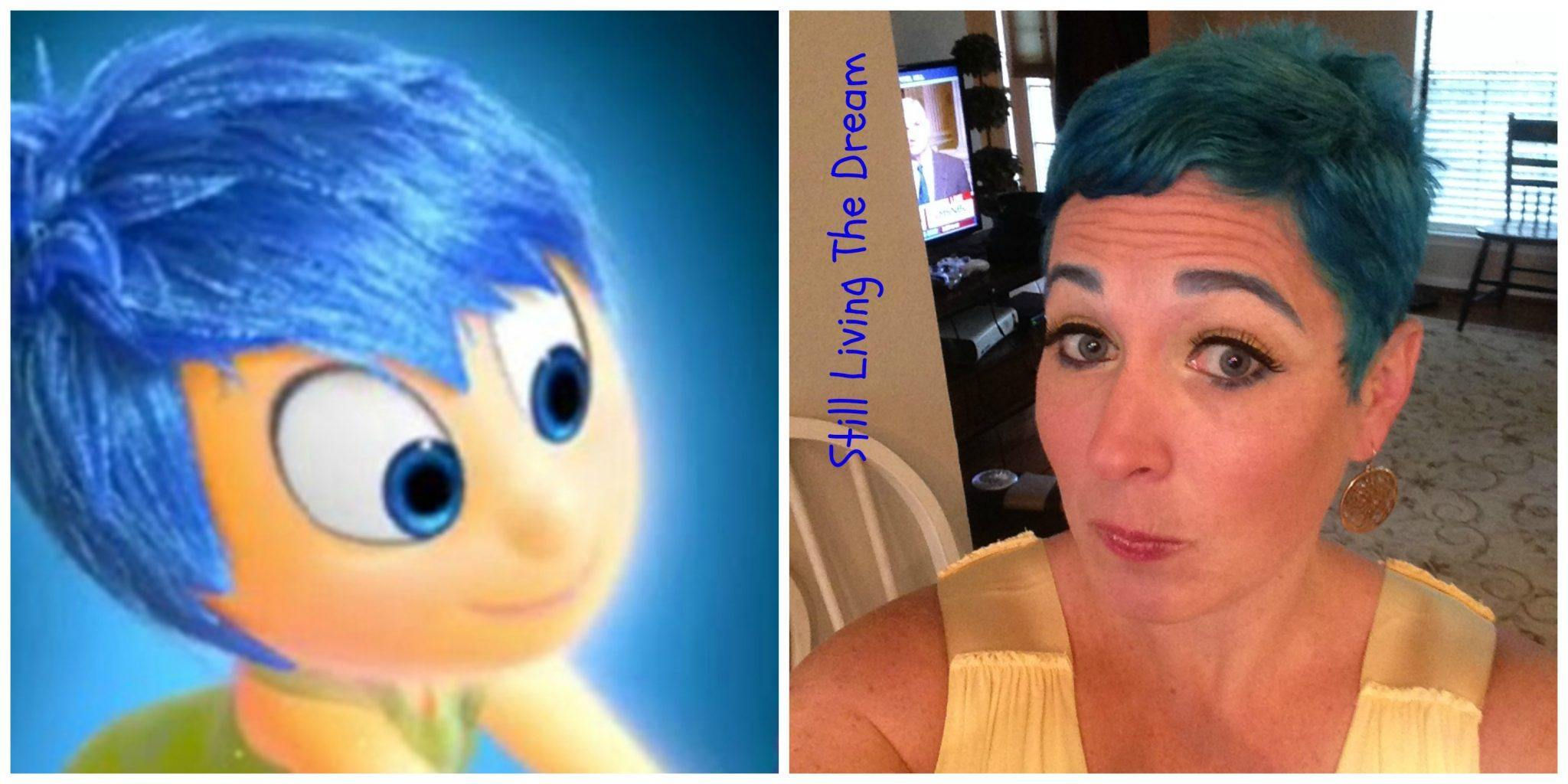 inside out blue hair