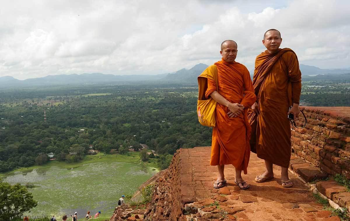 Monks in Sri Lanka