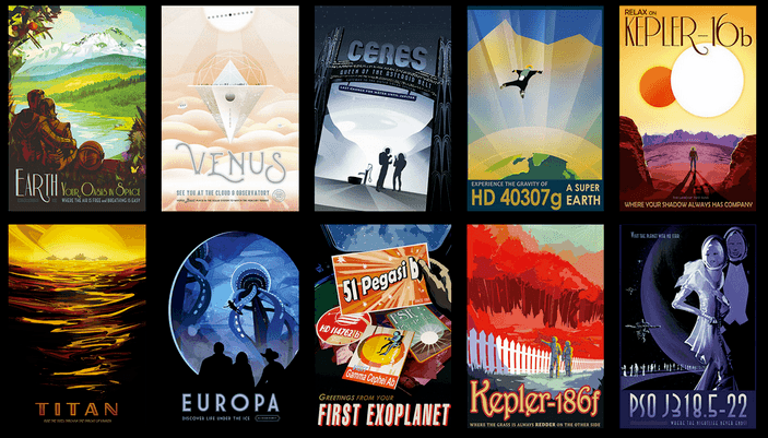 Free posters from NASA