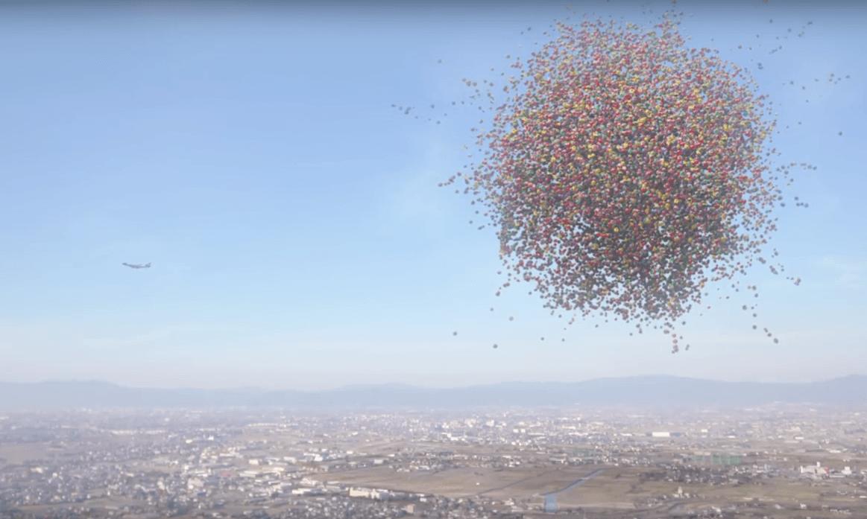 Sagemons falling down sky