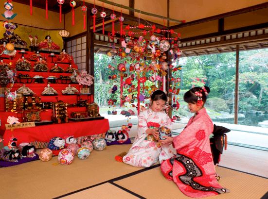 Sagemon ornaments in Japan