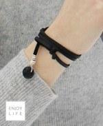 essential oil diffuse leather wrap bracelet
