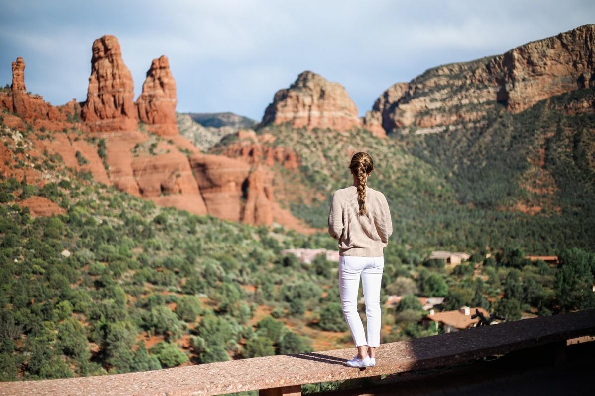 Sedona Views @nomadicnewlyweds