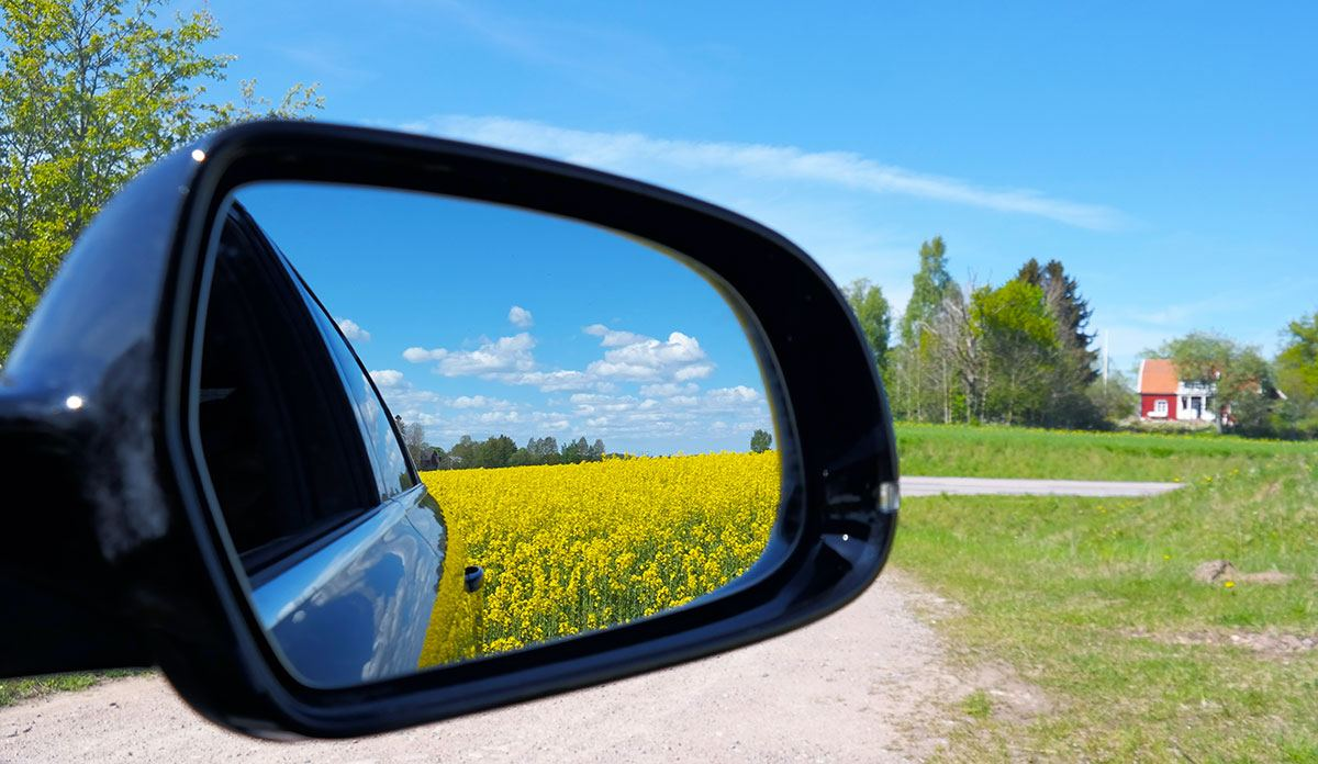 Our Journey in a Volvo. Sweden and beyond.