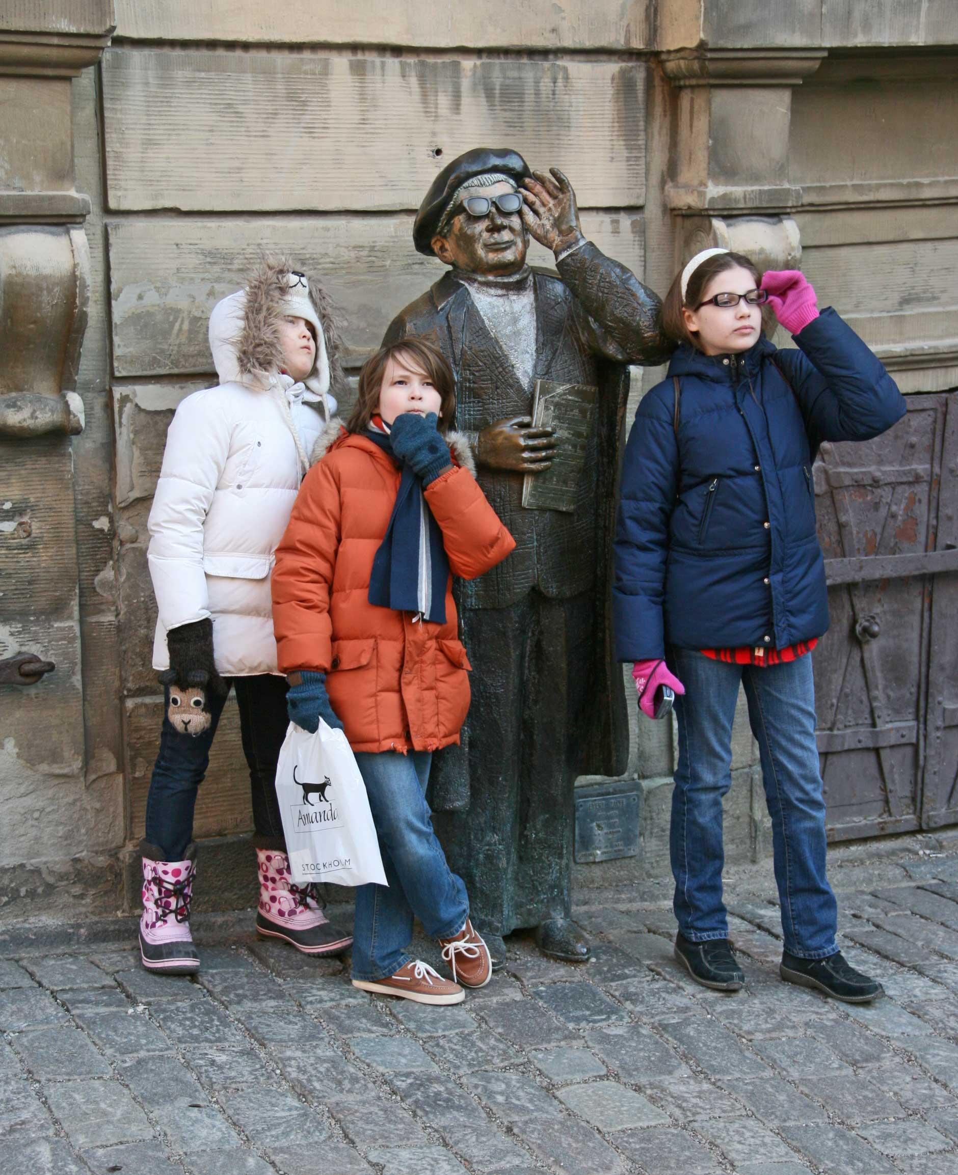 Kids back in Stockholm