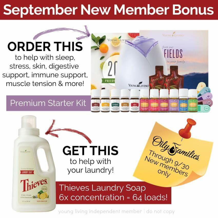 September Young Living special