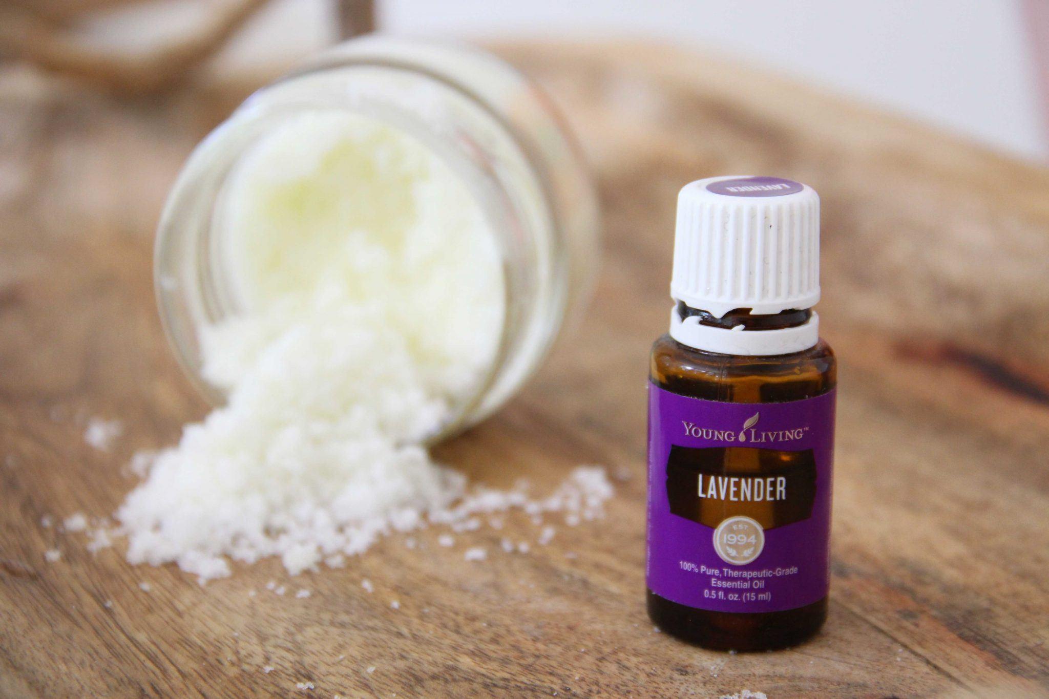 DIY Lavender Sugar Scrub as Inspired by a Luxury Spa - Skimbaco ...