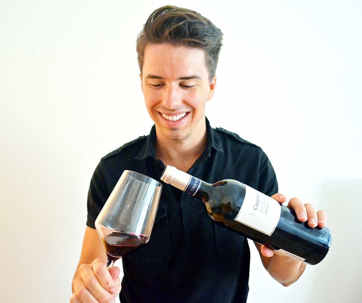 Tasting Garnacha wine for the first time