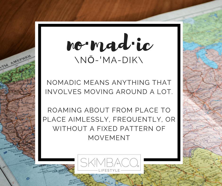 nomadic definition